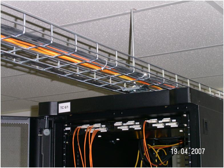 Маркировка телекоммуникационного шкафа 19 дюймов