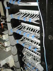 распределение кабеля витая пара